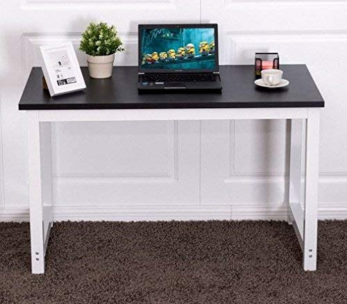SKB Family Home Office Workstation Wood Computer Desk Laptop Writing Table Home Office Shelves Modern Style