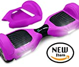 Seafaring SILICONE CASE for Self-balancing scooter Rubber Guard Protection 6.5-Inch (Hot Pink)