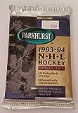 1993-94 Parkhurst NHL Hockey Series Two Hobby Pack