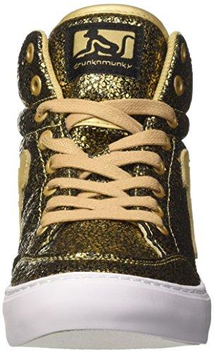 306 Femme Drunknmunky De Noir Tennis gold Or Chaussures Galaxia Boston Tqp6wTSz