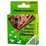 Aneco 600 Pieces Clear Self-Adhesive Picture