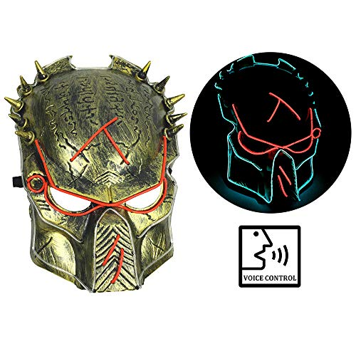 Predator 2 Helmet With Led Lights