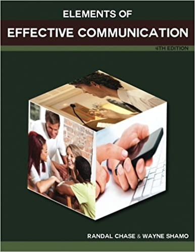 Elements of Effective Communication: 4th Edition