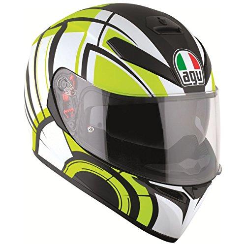 Agv White Helmet - 9