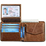 MUTBAK Shadow - Passcase Leather Wallet, Tile...