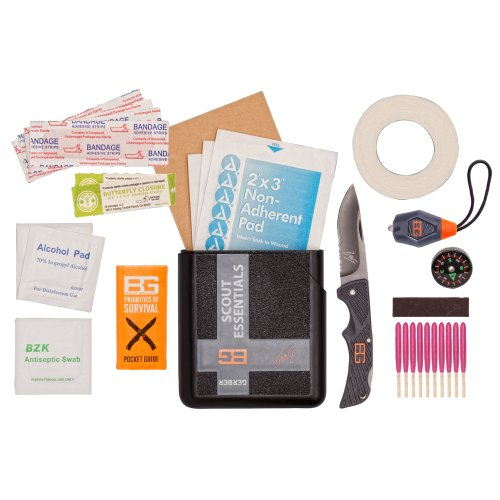 Gerber Bear Grylls Scot Essentials Kit in Plastic Case 31-001078