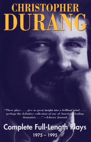 Christopher Durang: Complete Full-Length Plays, - Full Glue Movie