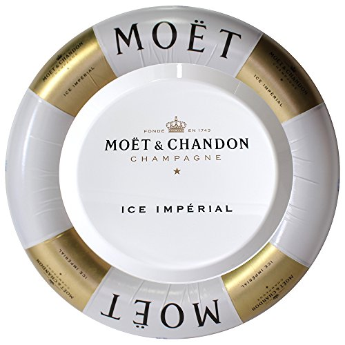 Set Serving Ring - Moet & Chandon Ice Imperial Floating Bar Inflatable Swim Ring and Serving-Tray Champagne Accessory Set