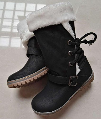41 outdoor winter strap black 40 Ms 43 large CYGG 42 boots snow size shoes fashion decoration A0Iq7wY