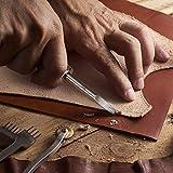 4 Pieces Edge Leather Beveler Craft Keen Edge