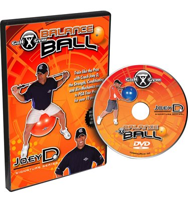 Golf Gym Balance Ball Workout By Katherine Roberts