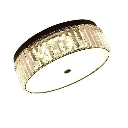 ○ Moderno LED Luz de Techo Cristal Creativo Control Remoto ...