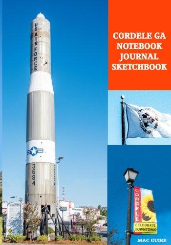 Cordele GA Notebook Journal Sketchbook