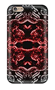 Hard Plastic Iphone 6 Case Back Cover,hot Organic Nuke Cool Abstract Cool Case At Perfect Diy