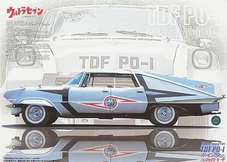 フジミ模型 1/24 ウルトラセブンシリーズ TDF PO-1 ポインター パーフェクトモードの商品画像