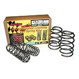 BBK 2547 Lowering Springs Kit - Performance Progressive Rate Kit for Ford Mustang GT