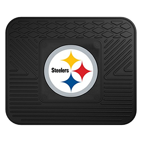 FANMATS NFL Pittsburgh Steelers Vinyl Utility (Nfl Truck Mats)