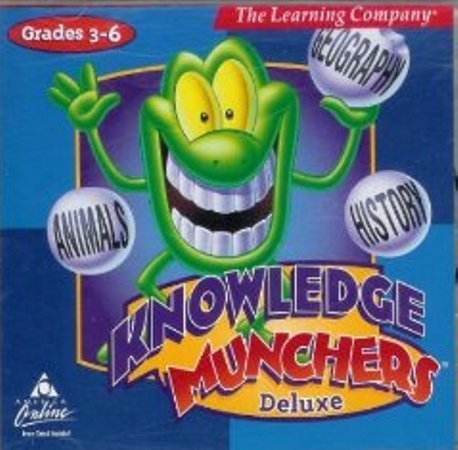 Knowledge Munchers Deluxe (Jewel Case) by SoftKey