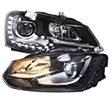 Generic LED Head lamps TC 2011 to 2013 Year for Volkswagen Cross Polo Vento Polo MK5