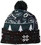 FOCO New York Jets Exclusive Busy Block Printed Light Up Beanie