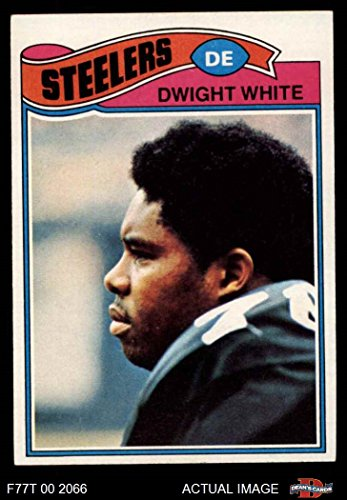 1977 Topps # 75 Dwight White Pittsburgh Steelers (Football Card) Dean's Cards 6 - EX/MT Steelers -