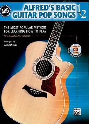 - [(Alfred's Basic Guitar, Bk 1 & 2: Pop Songs, Book & CD )] [Author: Aaron Stang] [Jul-2008]