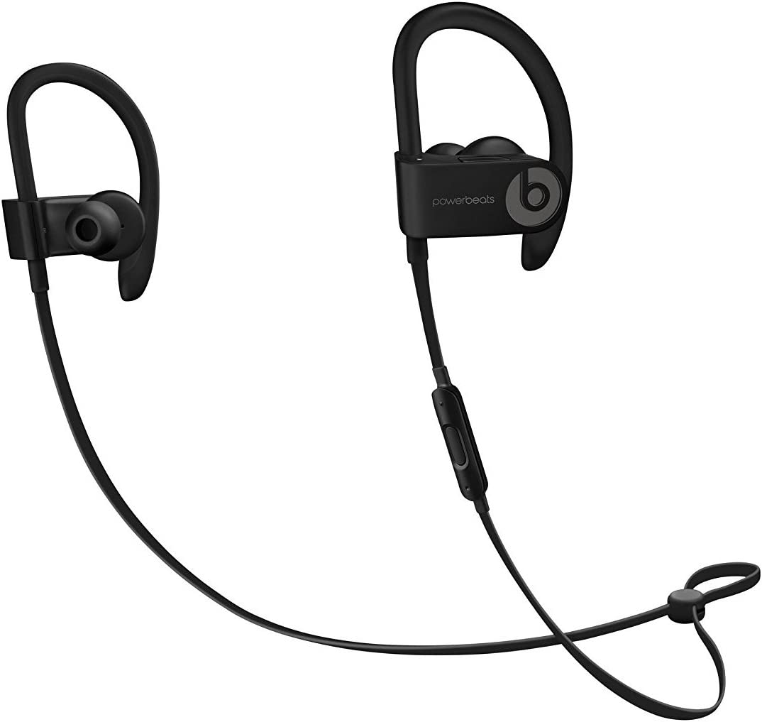 Amazon Com Beats By Dr Dre Powerbeats3 Ml8v2ll A Wireless Earphones With Mic Black Renewed Electronics