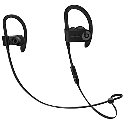 50d236dfc80 Amazon.com: Beats by Dr. Dre Powerbeats3 ML8V2LL/A Wireless Earphones With  Mic - Black (Renewed): Electronics