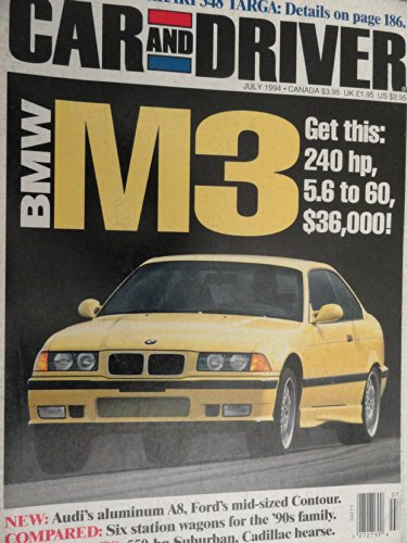 (1994 BMW M3 / VW Cabrio / VW Passat Wagon Road Test )