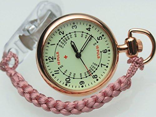 SPQR スポール ナースウォッチ こだわりの純日本製 (ピンク)