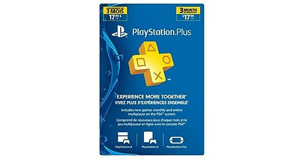 Amazon.com: Sony - 3 Month Membership PSN Live Subscription ...