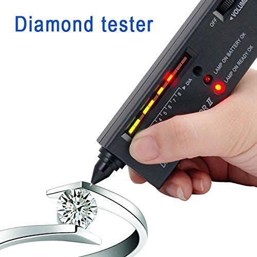 Diamanttester Diamant Schmuckstein Gem Stein Tester LED Diamantprüfer Prüfgerät