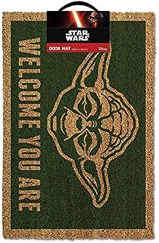 Yoda Doormat