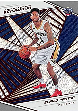 best service 4a232 6ada5 Amazon.com: 2018-19 Panini Revolution Basketball #23 Elfrid ...