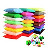 24 Colors Air Dry Clay Super Light DIY Clay for Model Air Dry Clay Fun Toy, Creative Art DIY Crafts, Gift for Kids