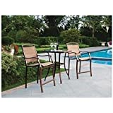 amazon com bar height patio furniture sets patio furniture