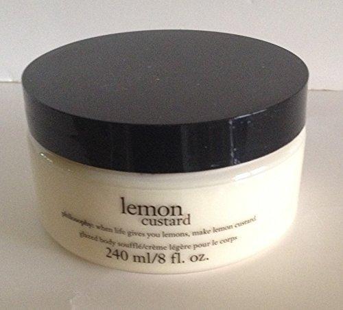 Philosophy Lemon Custard Glazed Body Souffle 8 Fluid Ounces by Philosophy