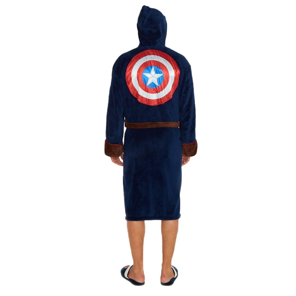 Official Marvel Avengers Captain America Civil War Outfit Dressing Gown  Bathrobe  Amazon.ca  Clothing   Accessories 80e3900be