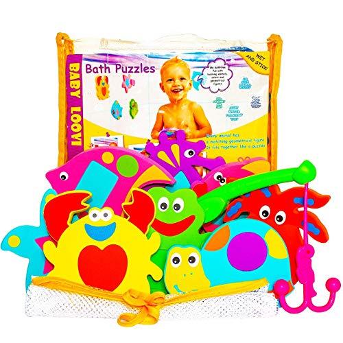 Non-Toxic Foam Bath Toys -...