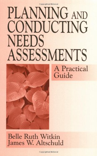 Planning+Conducting Needs Assessments