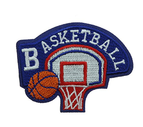 Basketball 2 inch Iron on Patch Ava0503
