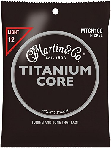 - Martin & Co. mtcn160 Acoustic Guitar Musical Instrument – Music for String Instruments, Acoustic Guitar Strings 6pièce (S), 6 Piece (S))