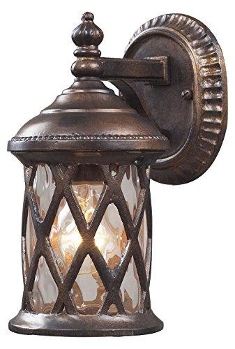 Barrington Gate 1 Light Outdoor Sconce in Hazelnut Bronze