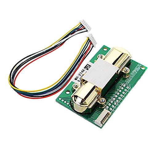 ILS - NDIR CO2 Sensor MH-Z14A PWM NDIR Infrared Carbon Dioxide Sensor Module Serial Port 0-5000PPM