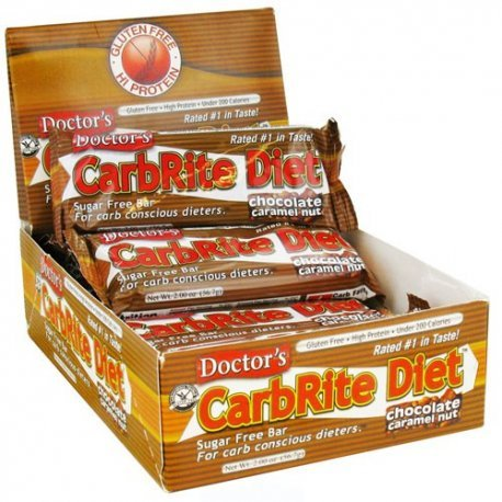 Universal Nutrition Doctor s CarbRite Diet Toasted Coconut 12 Bars 2 0 oz 56 7 g - Carbrite Doctors Diet