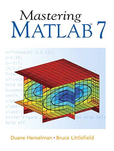 Mastering MATLAB 7 ISBN-13 9780131430181