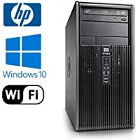 Workplace PC: HP DC7900 Tower - Intel Core 2 Duo 2.93GHz - NEW 1TB HDD - 8GB RAM - Windows 10 Pro 64-bit - WiFi - DVD-RW (Prepared by ReCircuit)