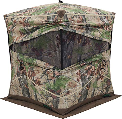 Barronett Blinds BX350BW Big Ox Pop Up Portable Hunting Blind, Backwoods Camo