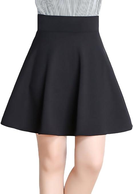Falda Mujer Elegantes Primavera Verano Bordado Elastische Taille ...