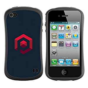 LASTONE PHONE CASE / Suave Silicona Caso Carcasa de Caucho Funda para Apple Iphone 4 / 4S / my own logo